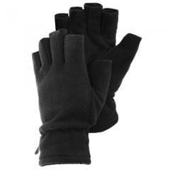 Damen Fleece-Handschuhe, fingerlos