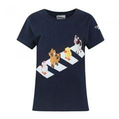 Crossy Road Kinder/Mädchen Official Character Crossing Kurzarm T-Shirt