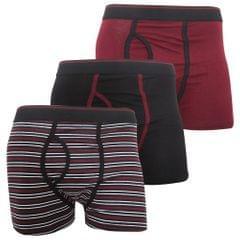 FLOSO Herren Key Hole Unterhosen (3 Stück)