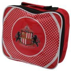 Kinder Lunch-Box / Lunch-Tasche / Brotzeit-Tasche mit Sunderland AFC Design, isoliert