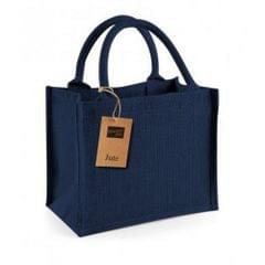 Westford Mill Jute-Tasche / Jute-Mini-Geschenktasche, 6 Liter