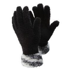 Floso Damen Handschuhe mit gemusterter Stulpe, besonders weich