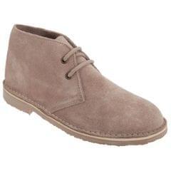Roamers Damen Desert Boots / Wüstenstiefel / Schuhe, Wildleder, ungefüttert