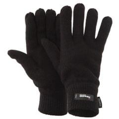 Floso Herren Thermo Strick-Handschuhe Thinsulate