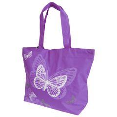 FLOSO Damen Tasche mit Schmetterling-Design
