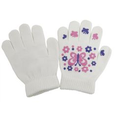 Magic Gloves Winter Handschuhe mit gummiertem Motiv
