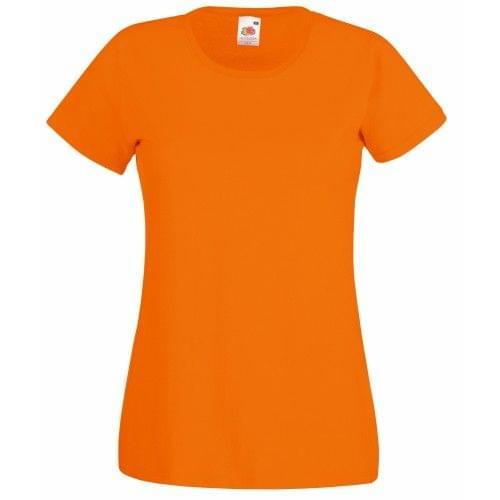 Fruit Of The Loom Lady-Fit Valueweight Damen T-Shirt