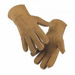 Eastern Counties Leather Herrenhandschuhe aus Schaffell mit Kunstnähten
