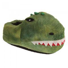Slumberzzz Kinder Dinosaurier Hausschuhe