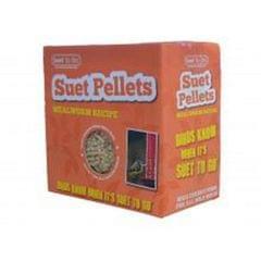 Suet To Go Talgpellets mit Mehlwürmern für Gartenvögel