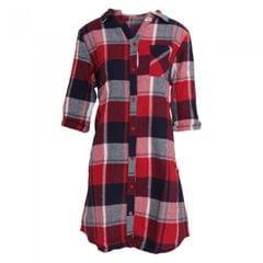 Foxbury Damen Nachthemd, kariert