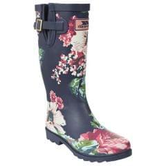 Trespass Elena Damen Gummistiefel mit Floral Muster