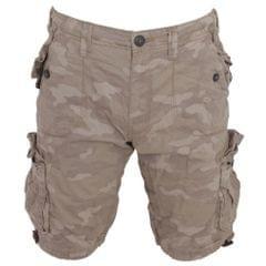 Brave Soul Herren Shorts mit Camo-Print und mehreren Taschen