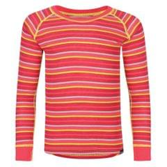 Regatta Great Outdoors Kinder Elatus Streifen Langarm Base Layer Top