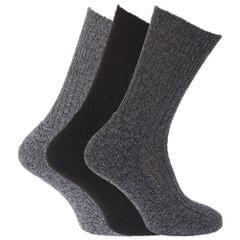 Chaussettes à dessus non-élastiqués (lot de 3 paires) - Homme