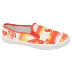 Spot On - Chaussures à motif tropical - Femme