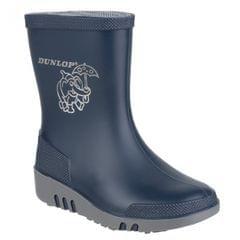 Dunlop - Bottes en caoutchouc à motif éléphant - Enfant unisexe