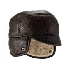Eastern Counties Leather Herren-Trapperhut Caxton aus Schaffell