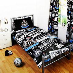 Kinder Bettwäsche mit Newcastle United FC Design