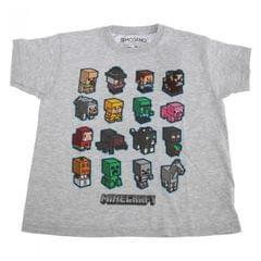 Minecraft Kinder Block Graphik T-Shirt