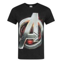 Avengers Age Of Ultron offizielles Herren Logo T-Shirt