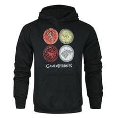 Game Of Thrones Unisex Kapuzenpullover mit den Wappen der verschiedenen Häuser, für Erwachsene