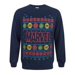 Marvel Logo Weihnachtspullover