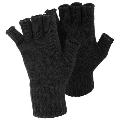 FLOSO Ladies/Womens Winter Fingerless Gloves