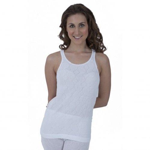 Ladies Thermal Wear Sleeveless Vest Polyviscose Range (British Made)