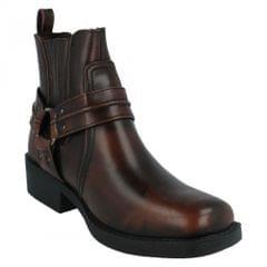Maverick Mens Ring Strap Ankle Cowboy Boots