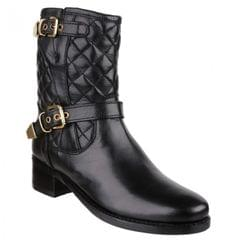 Riva Elegy Womens/Ladies Quilted Leather Dress Ankle Boots