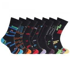 Stay Fresh Mens Retro Games Socks Size 7-12 (7 Pack)