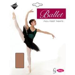Silky Big Girls Dance Ballet Tights Full Foot (1 Pair)