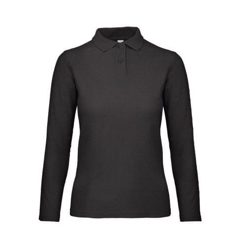 B&C ID.001 Womens/Ladies Long Sleeve Polo
