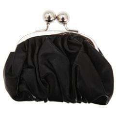 Womens/Ladies Faux Leather Coin Purse With Metal Clasp