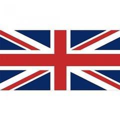 Union Jack GB London Printed Flag