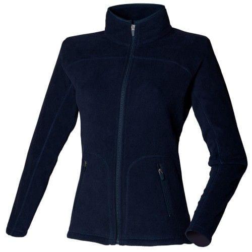 Skinni Fit Ladies/Womens Lightweight Anti Pill Microfleece Jacket