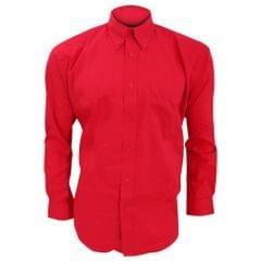 Kustom Kit Mens Long Sleeve Corporate Oxford Shirt