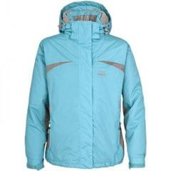 Trespass Youths Girls Amiata Zip Up Thermal Waterproof Ski Jacket