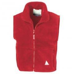 Result Childrens Unisex Anti-Pill Polar-Therm® Fleece Bodywarmer / Gilet