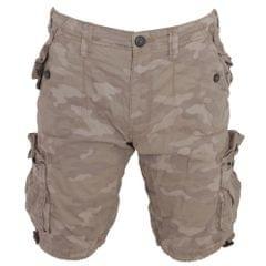 Brave Soul Mens Multipocket Camo Printed Shorts