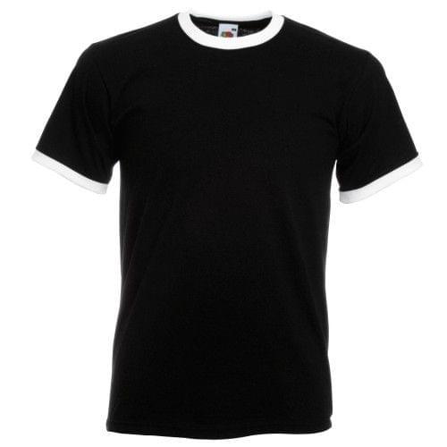 Fruit Of The Loom Mens Ringer Short Sleeve T-Shirt