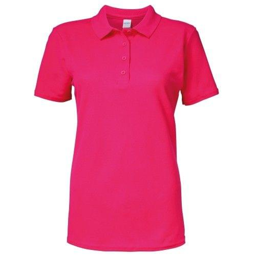 Gildan Softstyle Womens/Ladies Short Sleeve Double Pique Polo Shirt