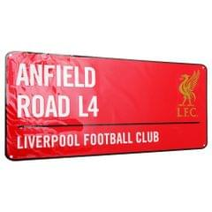 Liverpool FC Official Anfield Road Football Crest Street Sign