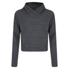 Dare 2B Childrens Girls Preconceive Cropped Hooded Sweatshirt