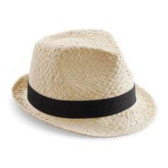 Beechfield Unisex Straw Festival Trilby Hat