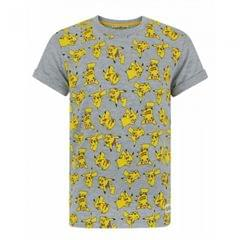 Pokemon Childrens/Boys All-Over Pikachu Design T-Shirt