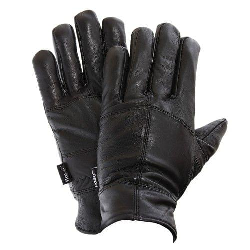 FLOSO Mens Lined Genuine Leather Gloves (3M 40g)