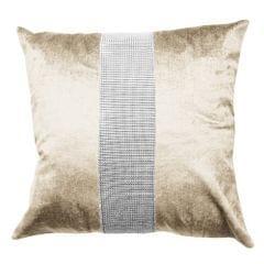 Panache Eclat Diamante Strip Cushion Cover In 8 Colors (Cushion Pad Not Inc)