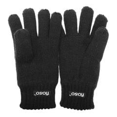 FLOSO Childrens Big Boys Knitted Thermal Gloves (3M 40g)
